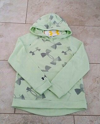 New Under Armour Cotton Youth Girls Sweatshirt Hoodie Small