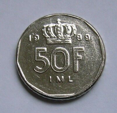 Luxembourg  50 Francs 1989