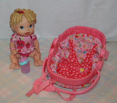 Baby Alive All Gone Interactive Talking Baby Doll With Carrier