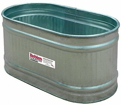 Behlen Country RE224 Galvanized Steel Round End Stock Tank, Approximately 90