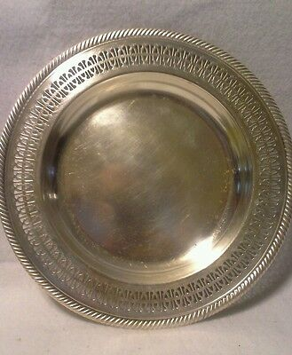 "Wm Rogers 10"" Silverplated Serving Platter"