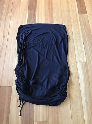 Target Collection Maternity Black Skirt Size 14