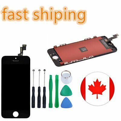 For iPhone Black 5S  LCD Display Touch Screen Digitizer Assembly Replacement