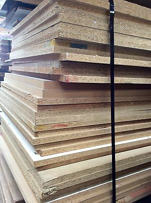 Chipboard And Mdf 25 Mm 2400 X 900 Second Sheets Pack Lot