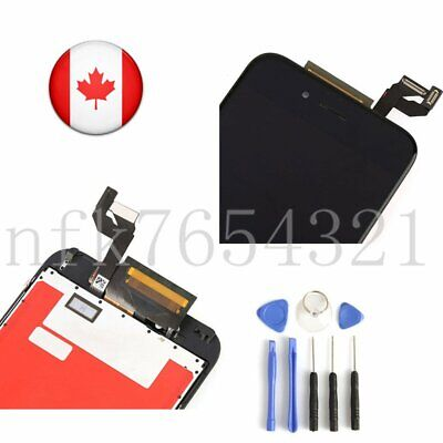 "For 4.7""iPhone 6S Black LCD Screen Replacement Digitizer Touch Assembly Display"