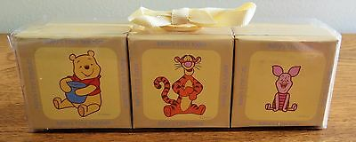 """MY FIRST"" Pooh Bear Trinket Box Set, NEW in Package, Baby Shower Gift"