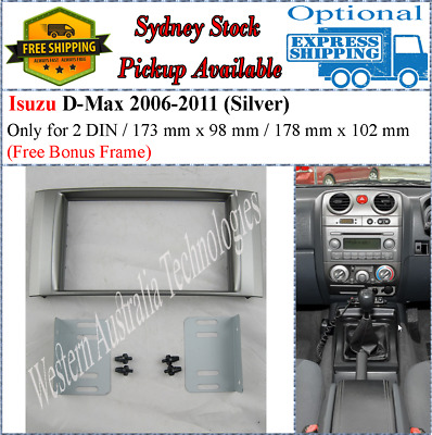 Fascia facia Isuzu D-Max DMAX 2006-2011 dash kit panel For Stereo DVD GPS Radio