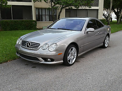 2006 Mercedes-Benz CL-Class AMG LOOK 2006 MERCEDES-BENZ CL 500 AMG BODY, RARE PEWTER COLOR, SUPER CLEAN, LOW MILES