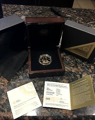 1967 South Africa 1 Oz Gold Proof Krugerrand Reissue 2017