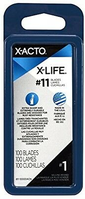 Xacto X-life Classic Fine Point Blades, Carbon Steel Knife Durable USA 100pcs