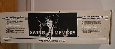 Memory Swing Golf Swing Trainer - Training Aid
