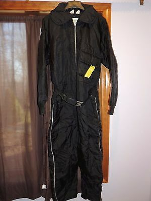 Vintage Zero Zone One Piece Snow Suit Snowmobile Size Large 42-44  Ex Shape