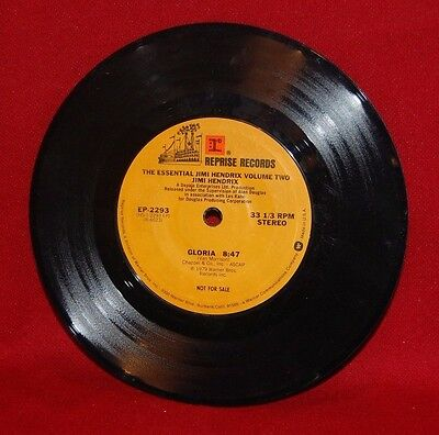 Reprise Record, The Essential Jimi Hendrix, sung by Van Morrison, 33 1/3 rpm