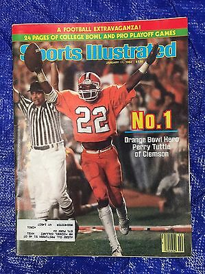 1st NATIONAL CHAMPIONSHIP CLEMSON TIGERS SPORTS ILLUSTRATED