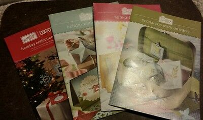 2008 to 2009 Stampin Up Mini Catalogs