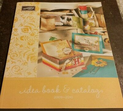 2009 - 2010 Stampin Up Idea Book and Catalog