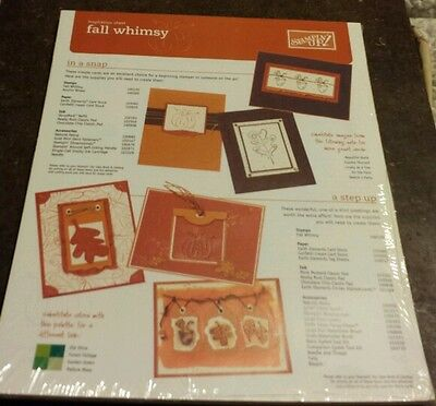 50 Stampin Up Inspiration Sheets- Fall Whimsy