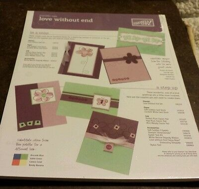 50 Stampin Up Inspiration Sheets- Love Without End