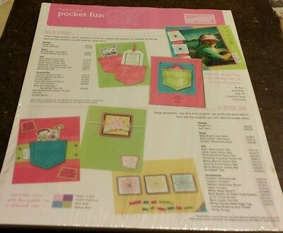 50 Stampin Up Inspiration Sheets- Pocket Fun