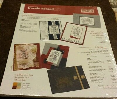 50 Stampin Up Inspiration Sheets- Travels Abroad