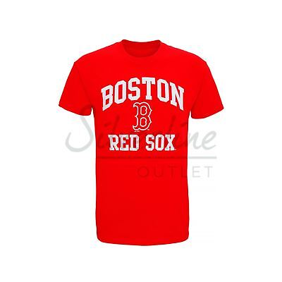 Boston Red Sox Large graphic T-Shirt Official Licensed American Baseball Sports