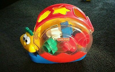 Fisher Price - shape sorting musical snail with sound