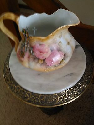 Jug pink an white medium size never been used very unusual design e.c