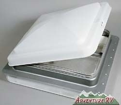 Replacement Ventline Elixir  Jensen 14 x 14 RV Trailer Camper Roof Vent White