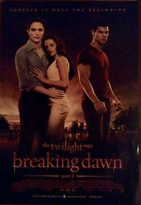 The Twilight Saga Breaking Dawn Original MOVIE POSTERS Set Of 3