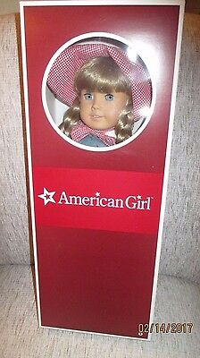 Retired American Girl Doll Kirsten in Complete Pl. Co. Meet Outfit and Box. EUC