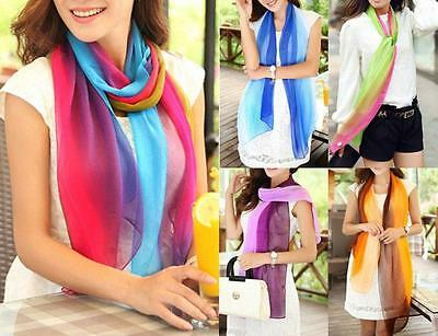 WHOLESALE BULK LOT OF 20 MIXED Colour Tie Dye Chiffon Wrap SCARF/SHAWL sc022