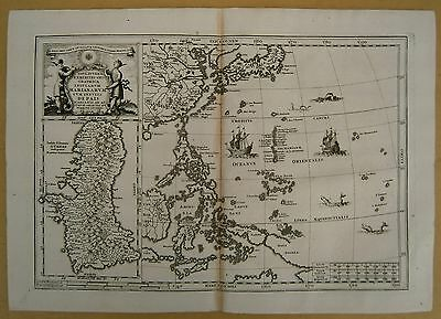Map of Philippines and Mariana Islands, by Heinrich Scherer, 1703.