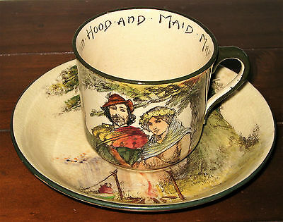 Royal Doulton Under The Greenwood Tree Cup And Saucer