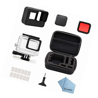 Rhodesy 18 in 1 GoPro Hero 5 Protective Waterproof Housing Case Accessories Bund