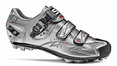 Chaussures VTT SIDI FIVE XC Argent, 48
