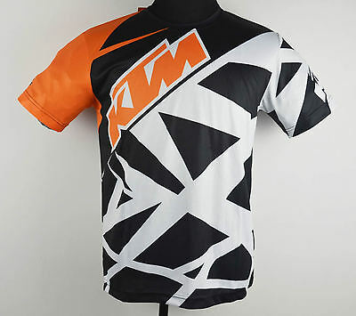 For KTM men t-shirt jersey man riding cycling motorcycle Sport gym fitness shirt
