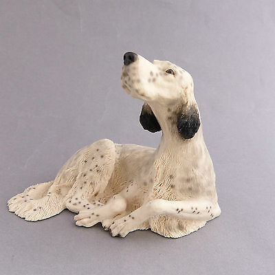 English Setter Dog Figurine Ornament Border Fine Arts Discontinued