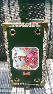 """Cigar Box """"Diddley Bow"""" 1 string slide machine, fret markers, acoustic/electric."""