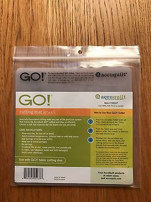 Accuquilt Go Cutting Mat - 6x6 - USED - GOOD CONDITION