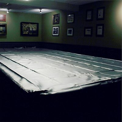 SPARTAN Heavy Duty Water Resistant Full Size Snooker Table Cover - 12FT BLACK
