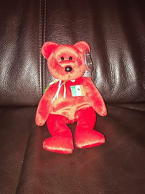 Osito Beanie Baby - Mint Condition With Protect Tag
