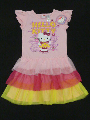 """Girls Size 6 """"Hello Kitty"""" pretty dress ~ Brand new with tags"""