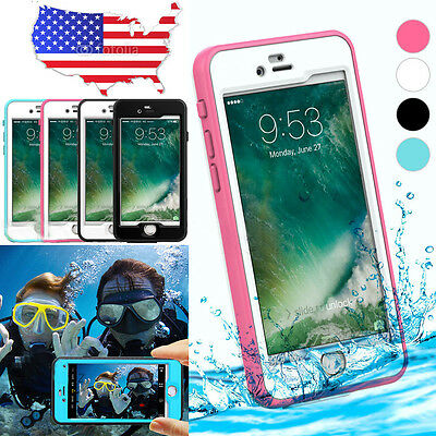 Waterproof Shockproof Dirt Protective Touch Hard Case Cover For iPhone 7 7S Plus