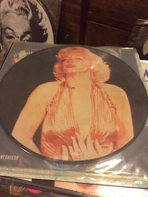 """Marilyn Monroe 12"""" picture disc single.  Very Rare"""