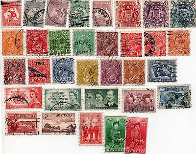commonwealth stamps, early australia