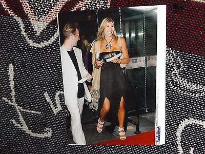 "8"" x 6"" SWIMMING PRESS AGENCY PHOTO - SHARRON DAVIES - FIFPRO AWARDS 2005"