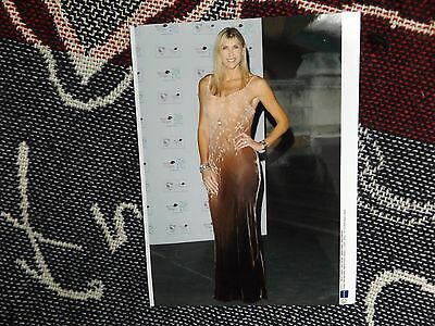 "8"" x 6"" SWIMMING PRESS AGENCY PHOTO - SHARRON DAVIES - OLYMPIC GOLD BALL 2008"