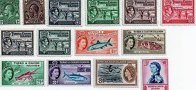 commonwealth stamps, turks and caicos islands