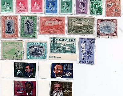 commonwealth stamps, papua and new guinea
