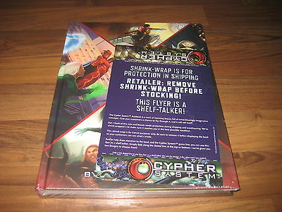 Numenera Cypher System RPG Rulebook Core Monte Cook Games New Sealed 2015
